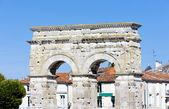 Arch of Germanicus, Saintes, Poitou-Charentes, France — Stock Photo