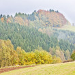 Autumnal landscape, Czech Republic — Stock Photo