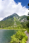 Popradske Tarn, Vysoke Tatry (High Tatras), Slovakia — Stock Photo