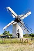 Windmill, Vensac, Aquitaine, France — Stock Photo