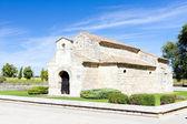 Church of San Juan Bautista, Banos de Cerrato, Castile and Leon, — Stock Photo