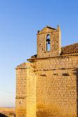 Chiesa di ampudia, castiglia e leon, spagna — Foto Stock