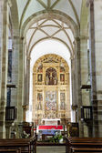 Interior of cathedral, Miranda do Douro, Portugal — Stock Photo