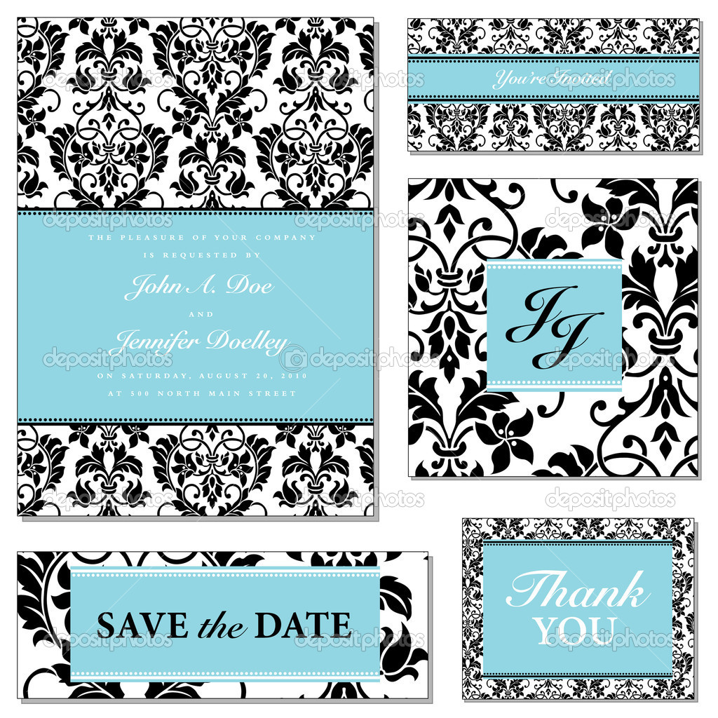 Vector Pastel Frame Set. Easy to edit. Perfect for invitations or announcements.  Stock Vector #5476065