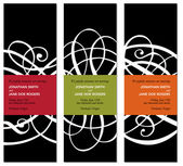 Vetor moderno conjunto de quadro correspondente — Vetorial Stock