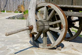 Wooden wheel — Stock fotografie