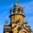 Wooden chruch — Stock Photo