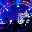 Crowd of fans at a concert — Stock Photo #5853288