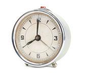 Old retro alarm clock isolated — Stock Photo