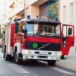 Fire-fighter truck — Stock Photo
