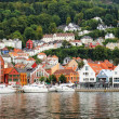 Panoramic view of Bergen, Norway — Stock Photo
