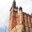 Stock Photo: Main Town Hall of Gdansk, Poland