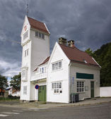 The old Skansen Fire Station in Bergen, Norway — Stock Photo