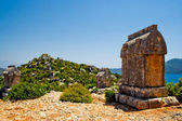 Lycian tomb — Stock Photo