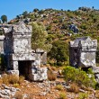 Lycian tomb - Stock Photo