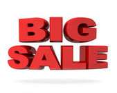 Big sale promotion concept isolated — Stock Photo