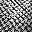 Stock Photo: Aluminum silver square pattern background