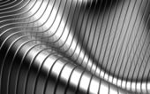 Aluminum abstract silver stripe pattern background — Foto de Stock