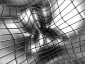 Abstract aluminium silver square background — Stock Photo
