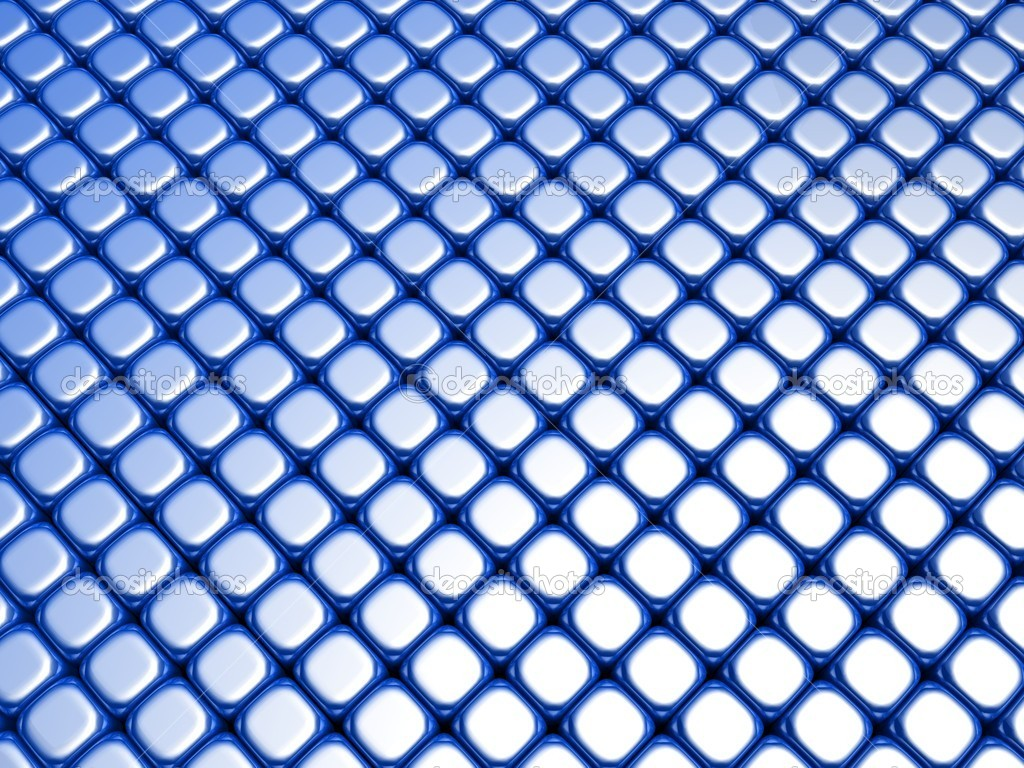 Blue cube luxury shiny background pattern 3d illustration — Stock Photo #6155279