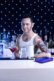 Bartender — Stock Photo