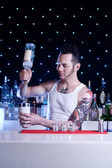 Barman — Stockfoto