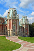 The big palace, Tsaritsyno — Stock Photo