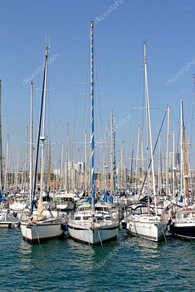 Three yachts  Foto de Stock   #6704216