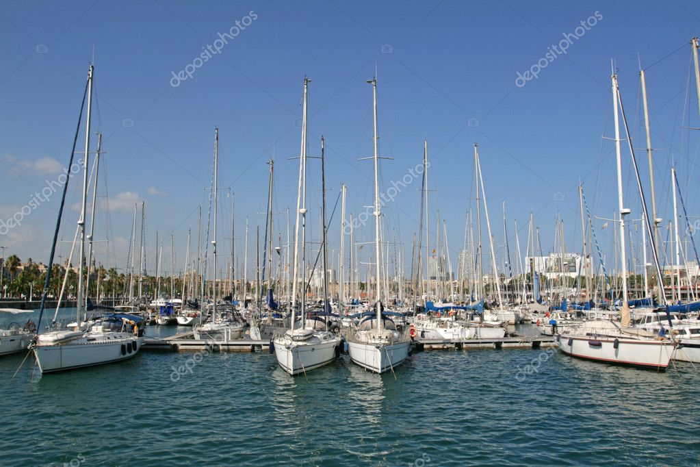 Four yachts — Stock Photo #6704271