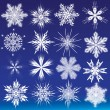 Snowflakes — Stock Vector #6672254