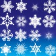 Snowflakes — Stock Vector #6692968