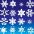 Snowflakes — Stock Vector #6692968