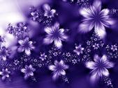 сказочные цветы — Стоковое фото