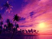 Puesta del sol — Foto de Stock
