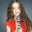 Royalty-Free Stock Photo: Little singer