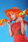 Pippi Longstocking — Stock Photo