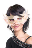Ready for thr masquerade — Stock Photo