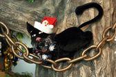 Gatto di natale — Foto Stock