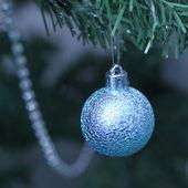 Blue ball — Стоковое фото