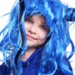 The blue wig — Stock Photo #5675995