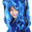The blue wig — Stock Photo #5676205