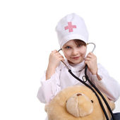 Little doctor — Foto Stock