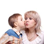 Mały pocałunek — Zdjęcie stockowe