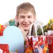 Bright gifts — Stock Photo