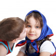 Stock Photo: Little kiss