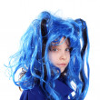The blue wig — Stock Photo #5718191