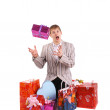 Royalty-Free Stock Photo: Man with gifts