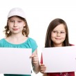 Pretty little girls — Stock Photo