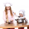 Little cooks — Stock Photo #5726784