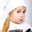 Royalty-Free Stock Photo: Little cook